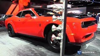 2018 Dodge Challenger SRT Demon - Exterior and Interior Walkaround - 2018 Detroit Auto Show