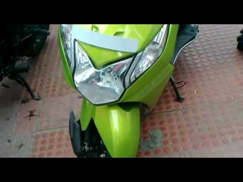 Honda Dio Green Images New Honda Dio Het Green