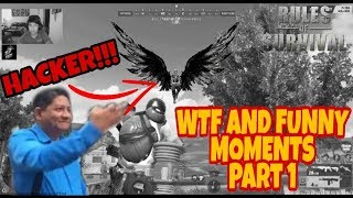 WTF and Funny Moments w/ Hackers Part 1. [Rules Of Survival]