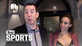 KYLE BUSCH -- HERE'S HOW I MET MY SMOKIN' HOT WIFE | TMZ Sports