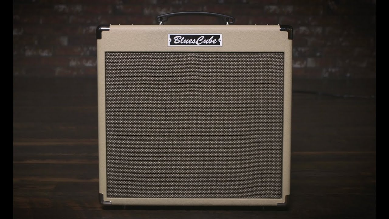 Roland Blues Cube Hot Guitar Amplifier Simple High Quality Tube Class A Video Library