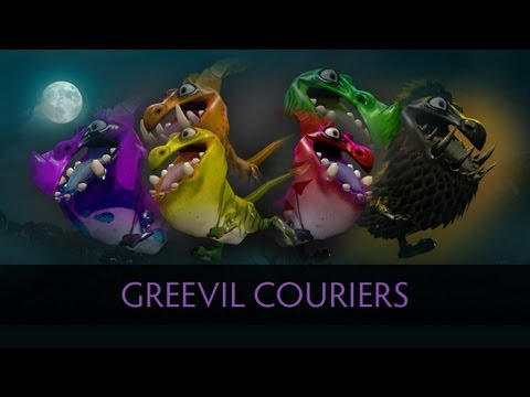 Dota 2 Greevil Couriers