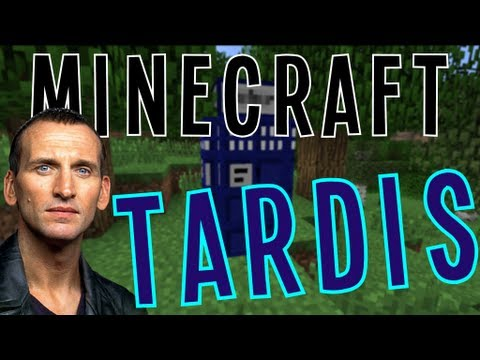 Minecraft: Doctor Who TARDIS MAP