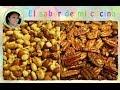 Cacahuate enchilado y nueces con especias - El sabor de mi cocina