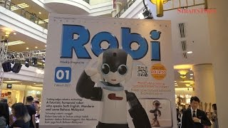 Promising future for Robi the Robot