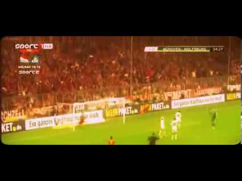 Bayern Munich vs Wolfsburg 6-1 Arjen Robben Goal 16-04-2013 HD