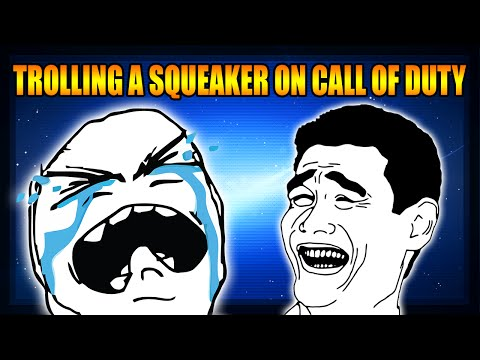 Trolling a Squeaker in Black Ops 2 The Trolling Channel Funny Moments Skits More
