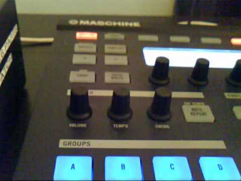 Native Instruments Maschine - Midi Out to external device and advice