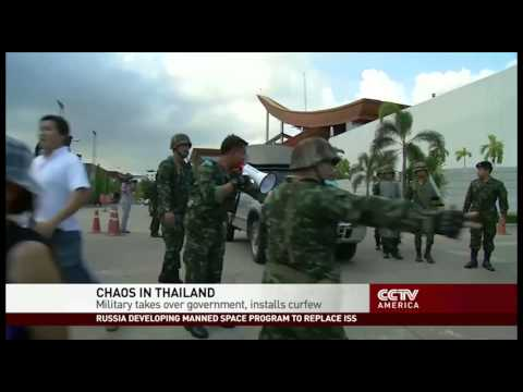 Thai Military Seizes Power in Coup, Imposes Curfew