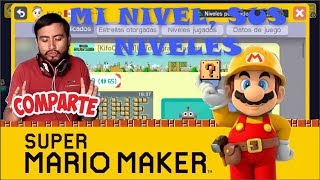 Mi Nivel SUS NIVELES! Super Mario Maker