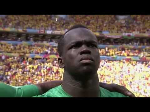 National Anthems Colombia vs Ivory Coast FIFA World Cup 2014 Serey Die
