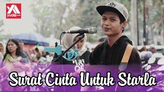 Download Lagu Surat Cinta Untuk Starla - Virgoun Last Child Cover Pengamen Murah Senyum Bikin Gemes Gratis STAFABAND