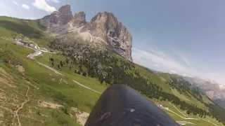 Slope Soaring - Passo Sella | GoPro FPV | FULL FLIGHT [Part 2]