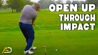 Golf - Learn How To Clear Your Hips - Amazing Drill