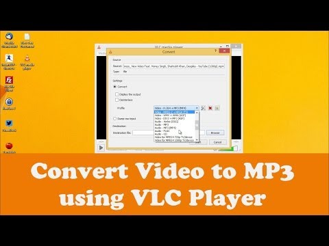 Convert Video to MP3 using VLC Media Player