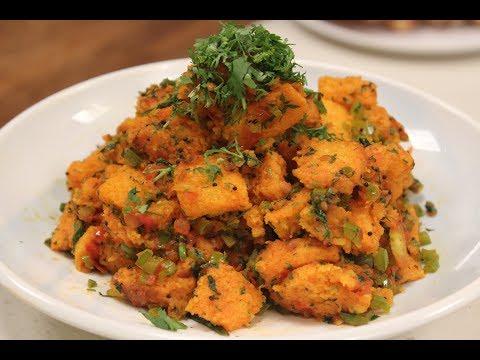Jain Bread Upma | Jain Recipes | Sanjeev Kapoor Khazana