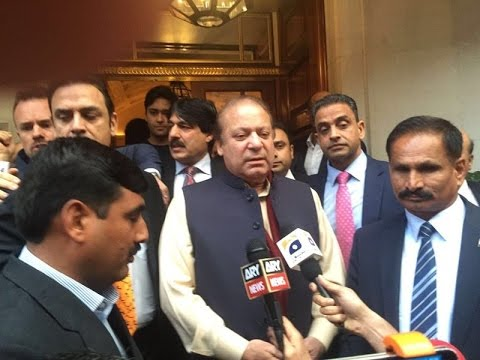 Nawaz Sharif breaks silence in London over Panama Leaks