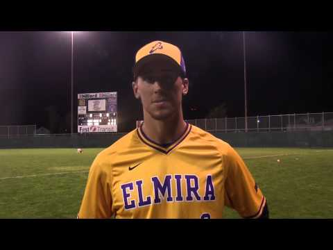 Elmira College Baseball Post Game Interview With Dylan Bellinger '17