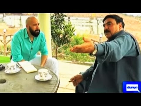 Mahaaz 23 April 2016 - Sheikh Rasheed Joins Wajahat Saeed Kh