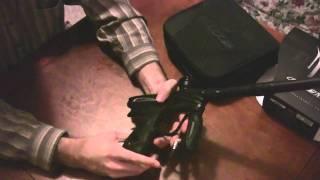 Dye NT11 (2011 NT) Paintball Gun Unboxing