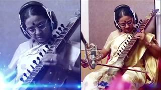 Heart melting piece of Charukesi Raag composed by Dilruba player Saroja