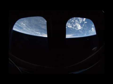 Earth view from spinning Space Shuttle, HD