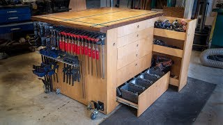 Build a Work Bench / Assembly Table with T-Track