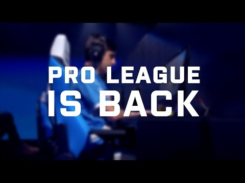 Pro League is back   Every Tuesday, Wednesday, Thursday