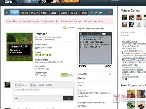Add MP3 PLAYER at Thumdar.com