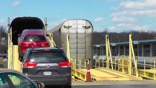 Amtrak Auto Train Loading and Leaving Lorton Virginia   Railfan Rowan