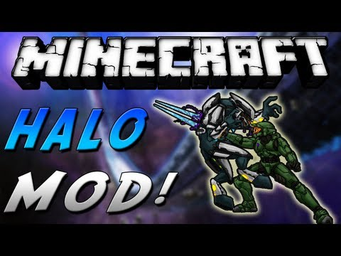Minecraft - Review de HALO MOD - ESPAÑOL TUTORIAL
