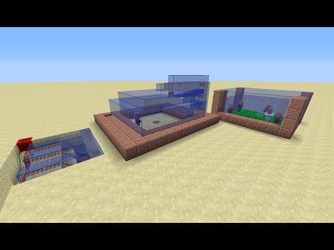 minecraft granja de aldeanos 1.8.1.9 /tutorial de redstone/review en español