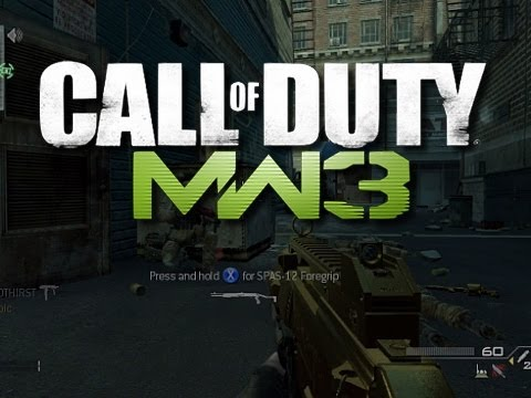 MW3 Camper Commentary #14 - KYR SP33DY and Deluxe 4 (Funny MW3 Gameplay Moments)