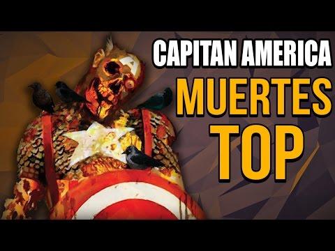 Top 10 Muertes Mas Brutales Del CAPITAN AMERICA