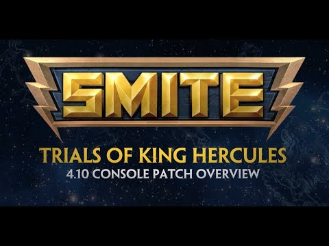 SMITE - 4.10 Console Patch Overview - Trials of King Hercules