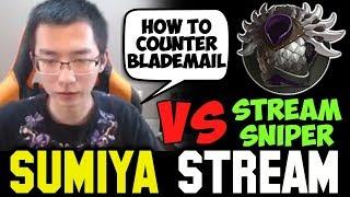 SUMIYA Invoker facing Stream Sniper | Sumiya Facecam Stream Moment #314