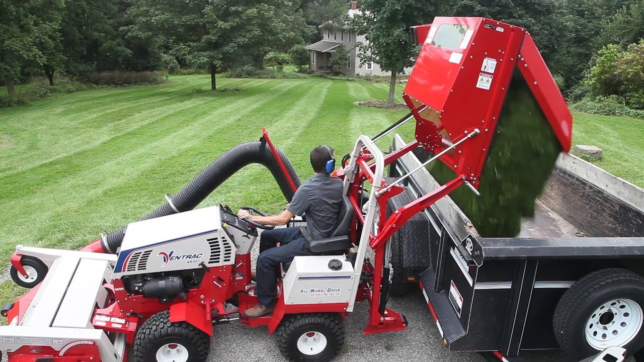 Lawn And Leaf Vacuum Collection System Ventrac Rv602