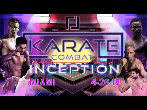 Karate Combat: Inception - Live Stream