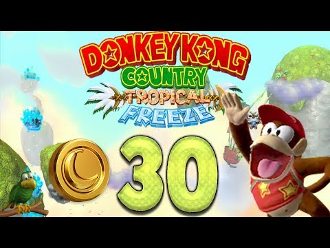 Let's Play Donkey Kong Country Tropical Freeze Part 30: Action auf Incognito Island