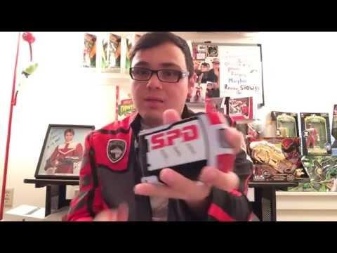 AFSINREVERIE'S Power Rangers DINO THUNDER Drago Morpher Review!...PLUS BONUS