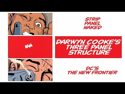 Darwyn Cooke's Three Panel Grid | The New Frontier | Strip Panel Naked