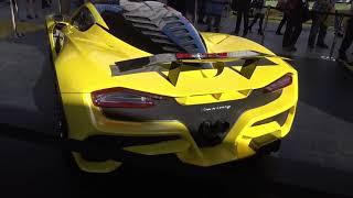 300mph! Hennessey Venom F5 Released on SEMA 2017 Faster than Bugatti Chiron