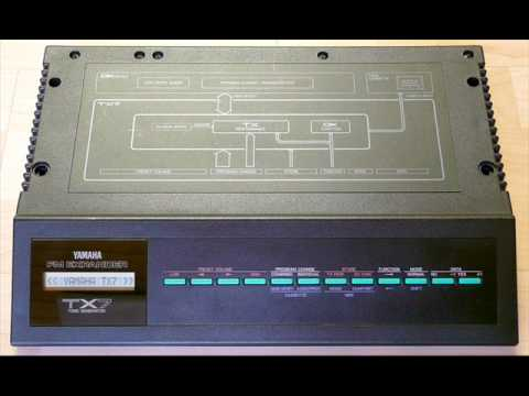 Yamaha TX7 pure (Yamaha DX7)