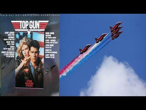 Top Gun (1986) Original Motion Picture Soundtrack [Full Vinyl] Tony Scott