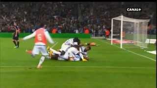 Olympique de Marseille Bordeaux 3-1 23:11:2014 (commentaires canal+)