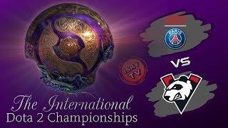 [EN] PSG.LGD vs Virtus.Pro  / The International 2019 Dota 2 Live /  Main Event
