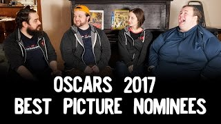Review Lounge Episode 6: Oscars 2017 Best Picture Nominees