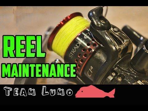 Shimano Stradic Ci4 2500 Reel Maintenance