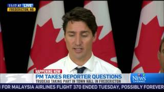 Prime Minister Trudeau Has A Complete Brain Fart