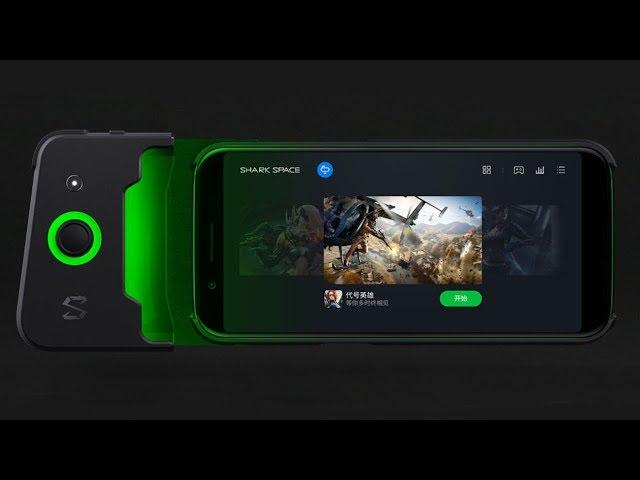 Xiaomi Black Shark - самый мощный геймерский смартфон. Игры, тест, рапаковка.
